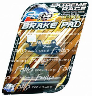 Racing Disc Brake Pad (Extreme Race) Front (Honda Wave 125, XRM 125  Auto/Clutch, RS 125, Wave 100R)